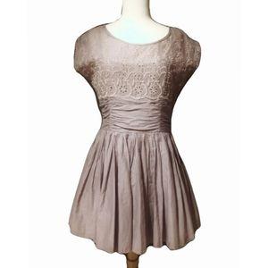 Free People Rose Garden Eyelet  Dress (Size 06)